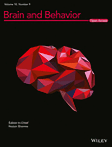 brain and behavior journal cover